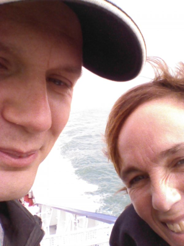 EMF2014 selfie at sea