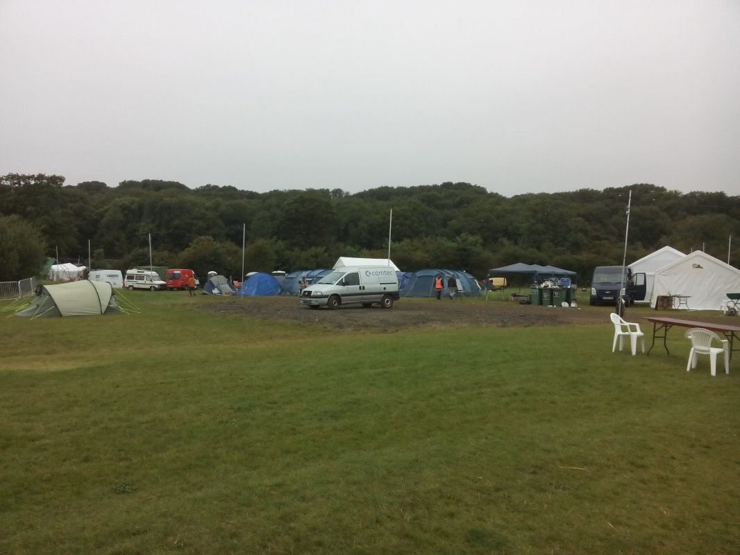 empty campfield