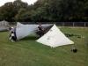 Tent & tarp is ready