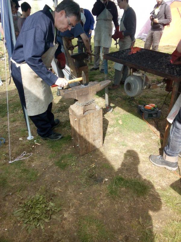 Actual blacksmith