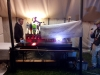 The bar-bot for mixing drinks