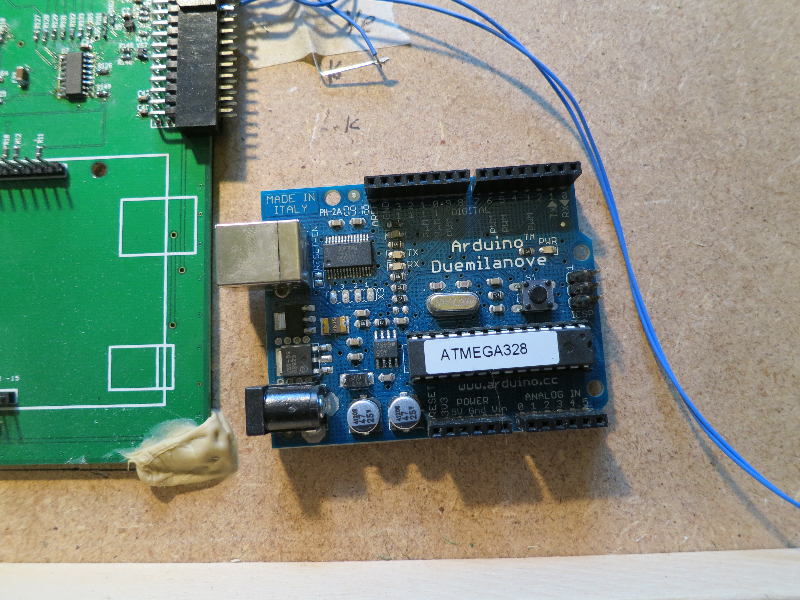 Arduino and footprint
